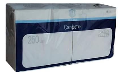 Салфетки H-Line трехслойные белые 24*24 см 250 штук