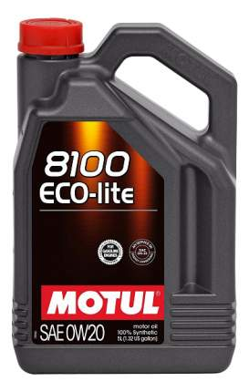 Моторное масло Motul 8100 Eco-lite 0W-20 5л