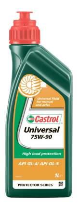 Трансмиссионное масло Castrol Universal 75w90 1л 1555BC