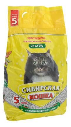 Наполнитель Сибирская кошка комкующийся 5 л