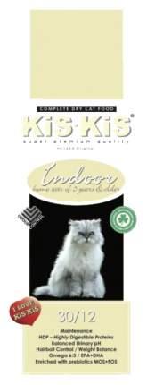 Сухой корм для кошек KiS-KiS Indoor, для стерилизованных, домашняя птица, 1,5кг