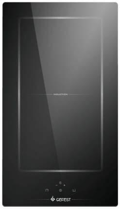 Встраиваемая варочная панель индукционная GEFEST ПВИ 4001 Black