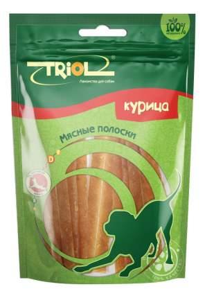 Лакомство для собак Triol, мясные полоски из курицы, 70г