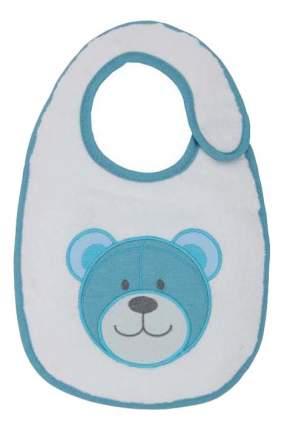 Нагрудник детский Polini Набор слюнявчиков Плюшевые мишки голубой с вышивкой