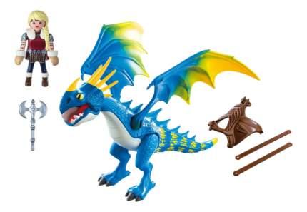 Игровой набор Playmobil PLAYMOBIL Драконы: Астрид и Громгильда