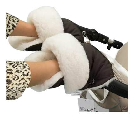 Муфта для рук мамы на детскую коляску Esspero На коляску Christer Chocolat
