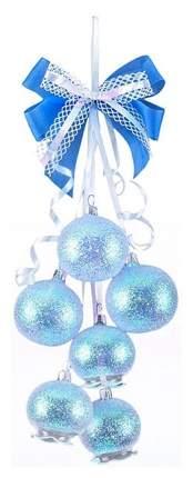 Гроздь шаров на ель Елочка Фея C364 5 см 6 шт.