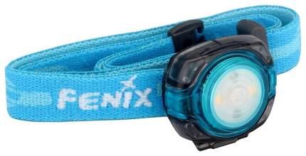Туристический фонарь Fenix HL05 голубой, 4 режима