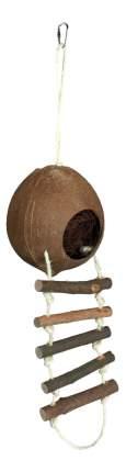 Домик для грызуна TRIXIE кокос, 56х13х13см, цвет коричневый