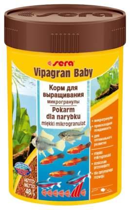 Корм для молодняка и мелких рыб Sera VIPAGRAN BABY, гранулы, 100 мл