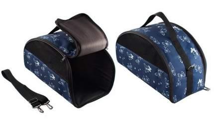 Сумка-переноска Дарэлл ЕСО 25x48x25см синий, черный