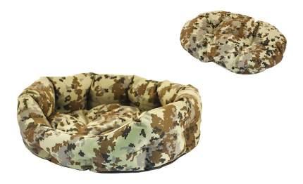 Лежанка для кошек и собак Дарэлл 50x62x19см коричневый
