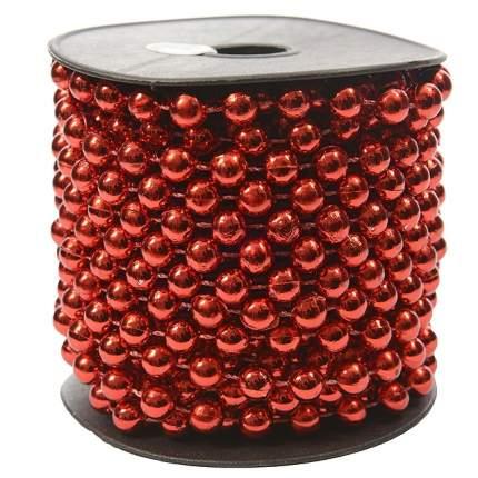 Kaemingk Бусы пластиковые Бисер 8 мм*10 м красные 9000152