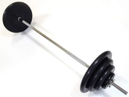 Штанга MB Barbell, гриф прямой 150 см, 70 кг, 25 мм