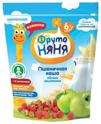 Каша молочная ФрутоНяня Пшеничная с яблоком и земляникой с 6 мес. 200 г