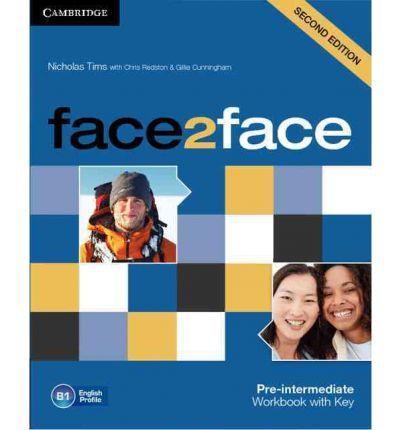 Face2Face 2Ed Pre-Int WB+key