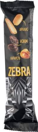Вафли Zebra арахис изюм и карамель 40 г