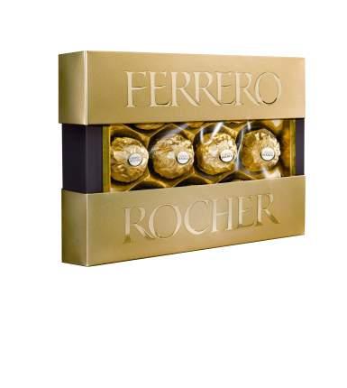 Конфеты Ferrero Rocher хрустящие с  лесным орехом 125 г