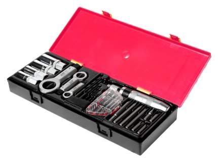 Набор инструментов для демонтажа крепежных элементов с поврежденной резьбой 26 предметов