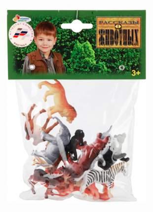 Игровой набор Дикие животные, 12 штук 5 см Играем вместе