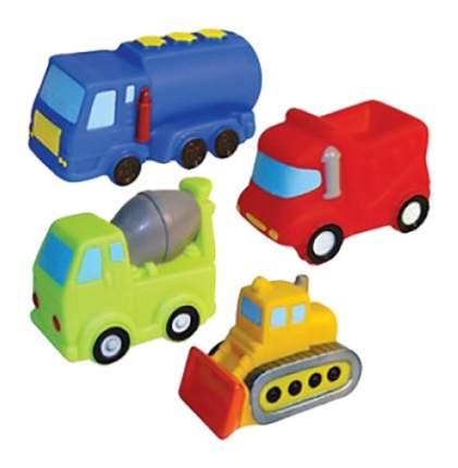 Набор игрушек для купания Строим дом Пома 4910