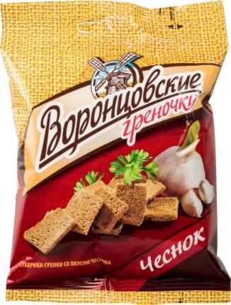 Гренки ржаные Воронцовские чеснок 60 г