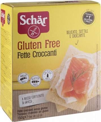 Хлебцы Schar fette croccanti без глютена 150 г
