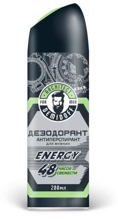 Дезодорант-Антиперспирант Architect Demidoff Energy 48 часов свежести, 200 мл