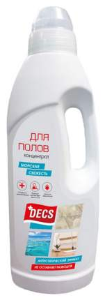 Чистящее средство для мытья полов Decs морская свежесть 1 л