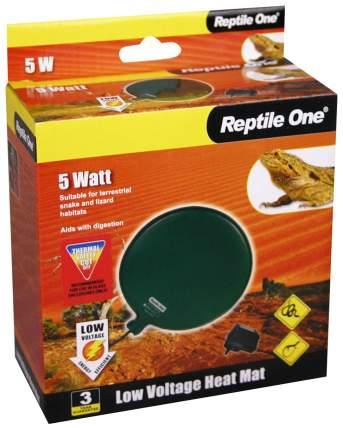 Греющая подушка для террариума Reptile One Low Voltage Heat Mat 5 Вт, диаметр 12 см