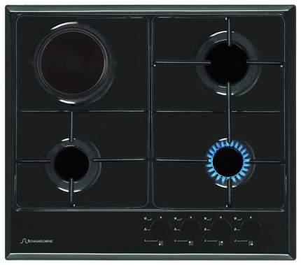 Встраиваемая варочная панель комбинированная Schaub Lorenz SLK GS6014 Black