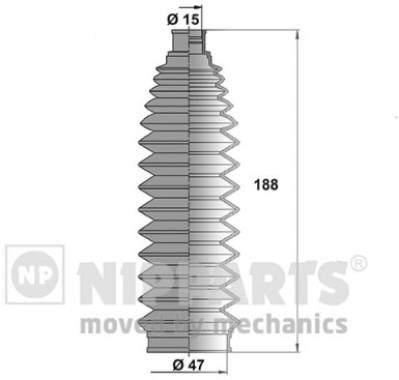 Пыльник рулевой рейки Nipparts N2841032