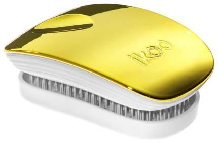 Расческа Ikoo Brush Metallic Pocket White Soleil