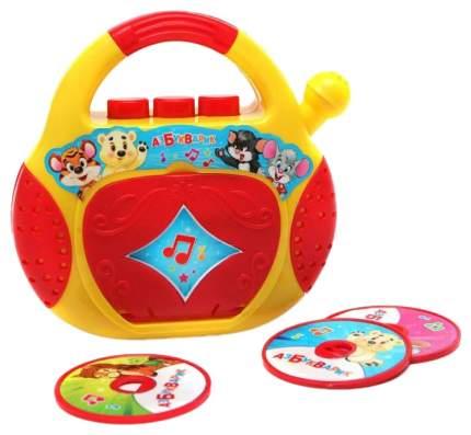 Развивающая игрушка Азбукварик Плеер-Cd Песенки-Чудесенки 28169-8