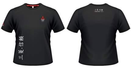 Мужская футболка Mitsubishi RU000011 Hieroglyph Black