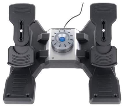 Педали для авиасимуляторов Logitech Saitek Pro Flight Rudder Pedals Grey (945-000005)