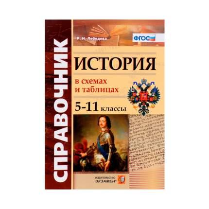 Лебедева, Справочник, История В Схемах и таблицах, 5 -11 кл (Фгос)