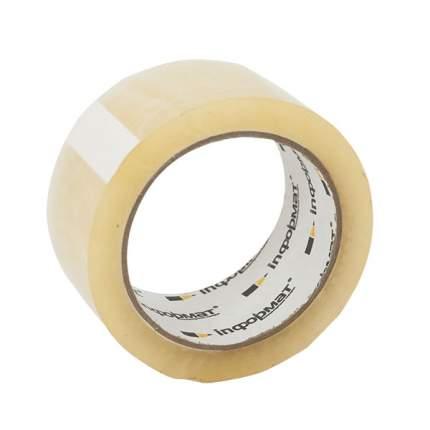 Клейкая лента упаковочная  inФОРМАТ 48 мм х 66 м 50 мкм прозрачная