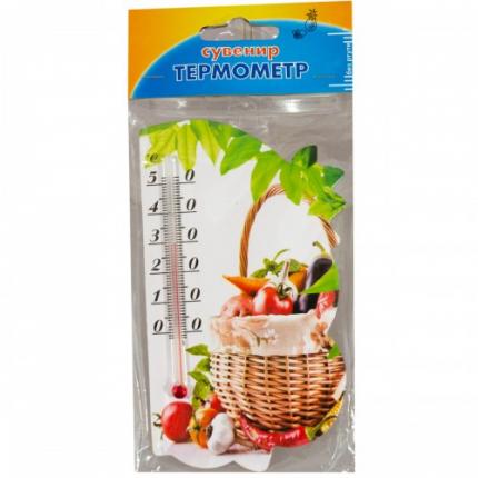 Термометр комнатный с магнитом на холодильник Сувенир