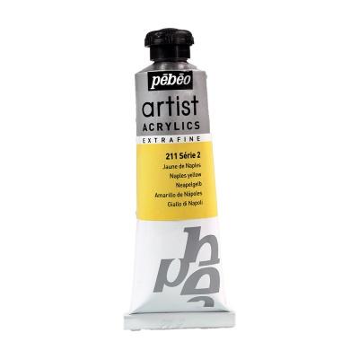 Акриловая краска Pebeo Artist Acrylics extra fine №2 неаполитанский желтый 37 мл