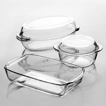 """Набор посуды для СВЧ Pasabahce """"Borcam"""", 5 предметов"""