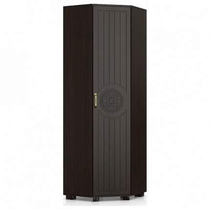 Платяной шкаф Компасс-мебель Монблан МБ-2 KOM_MB2_2 64,6x64,6x200, венге
