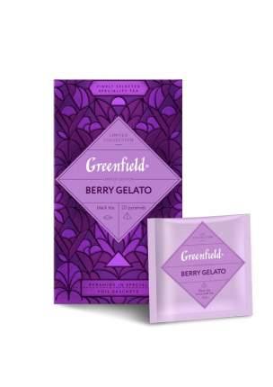 Чай черный Greenfield Berry Gelato в пирамидках 20 штук