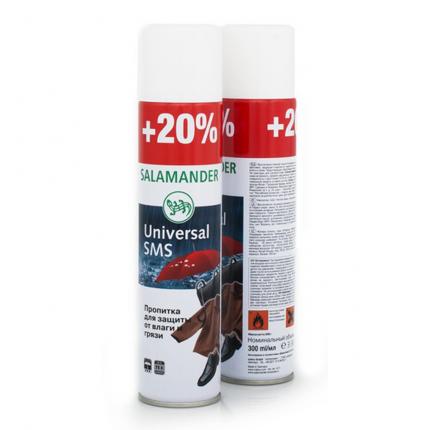 Пропитка водоотталкивающая для обуви Salamander Universal SMS 300 мл