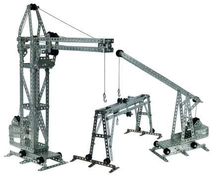 Конструктор металлический Десятое королевство подъемные краны 365 дет Р27719
