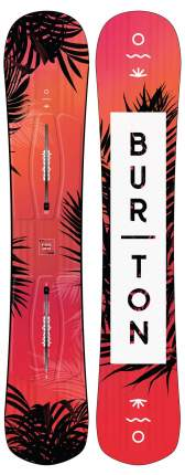 Сноуборд Burton Hideaway 2020, blue/multi, 148 см