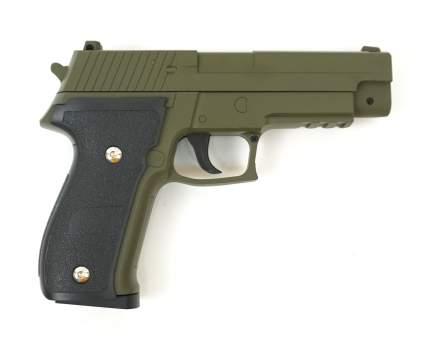 Страйкбольный пружинный пистолет Galaxy  Китай (кал. 6 мм) G.26G (зеленый)