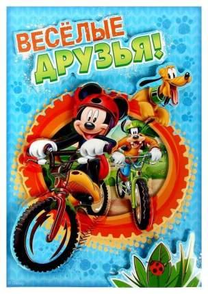 Аппликация объёмная 3D Веселые друзья, Микки Маус и его друзья, А4 Disney