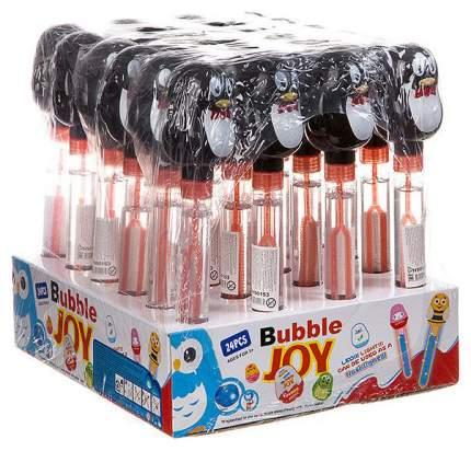 Набор мыльных пузырей Bubble Joy пингвин светящийся 24 шт. по 55 мл