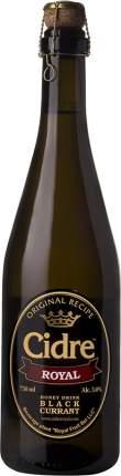 Сидр Cidre Royal with Black Currant 0.75 л